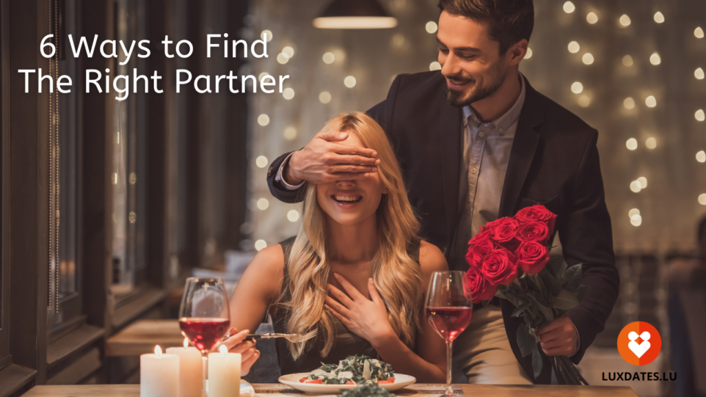 Finding the right partner